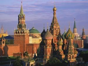 kremlin and st. basil