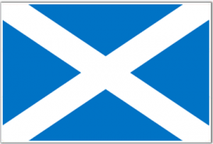 scotland flag service of process