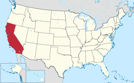 California US map
