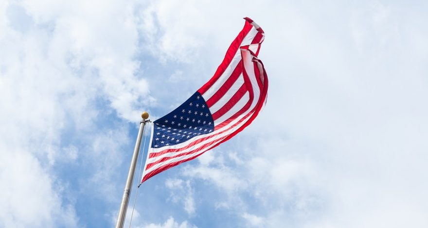 US flag - US immigration and citizenship