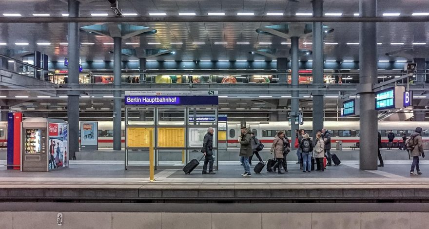 Berlin train station - Germany legal facts and laws