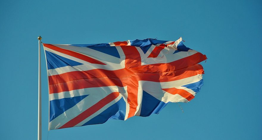 British flag -  legal facts and laws