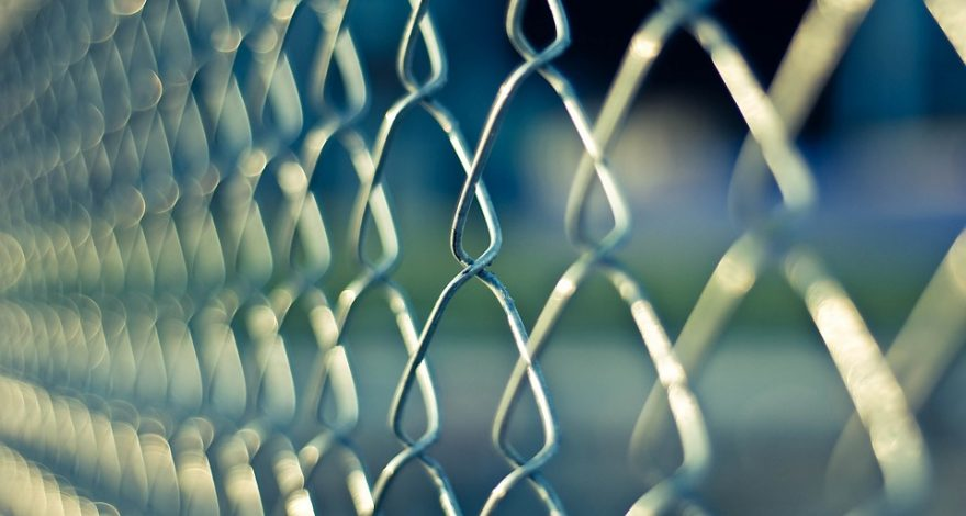 chainlink fence barrier
