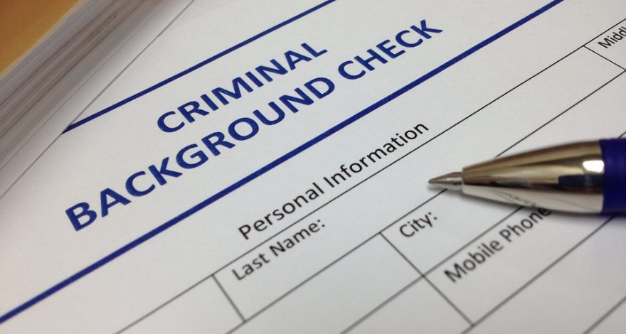 criminal background check forms