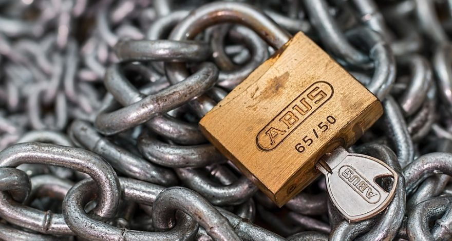 chain and padlock - international litigation