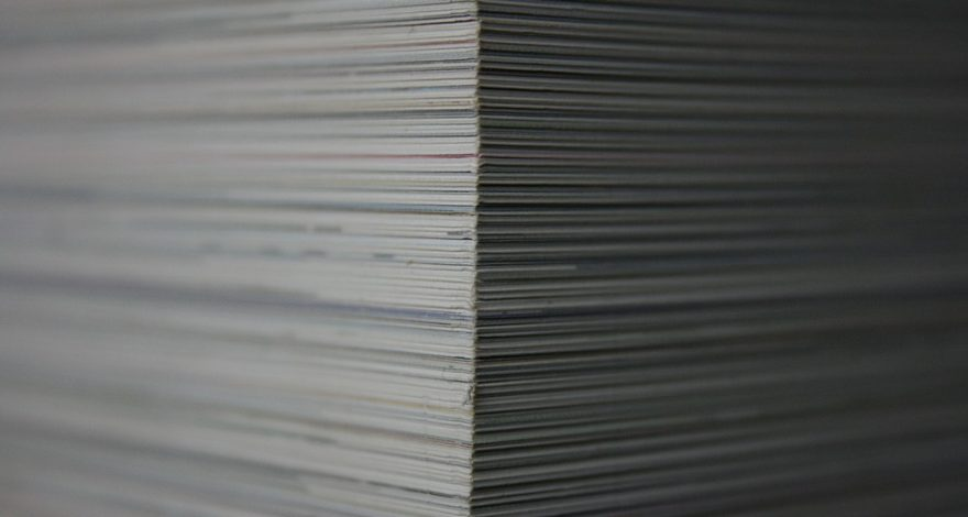 stack of immigration applications