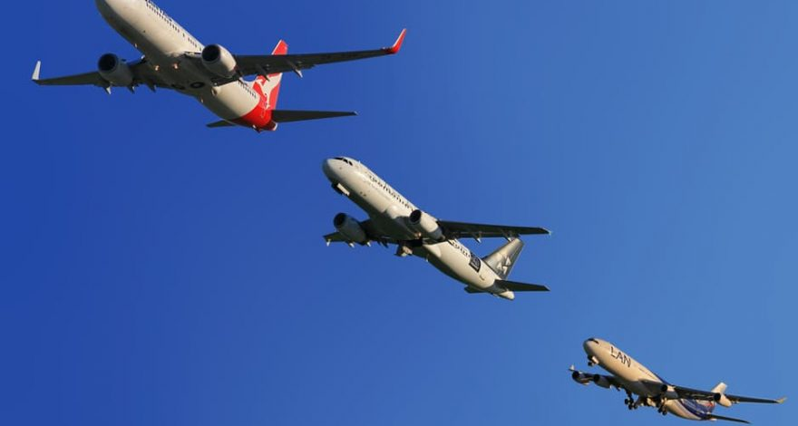 multiple planes en route to issue service of process