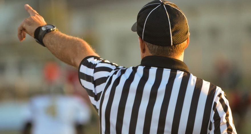 referee upholding code of conduct - interpreters code of conduct
