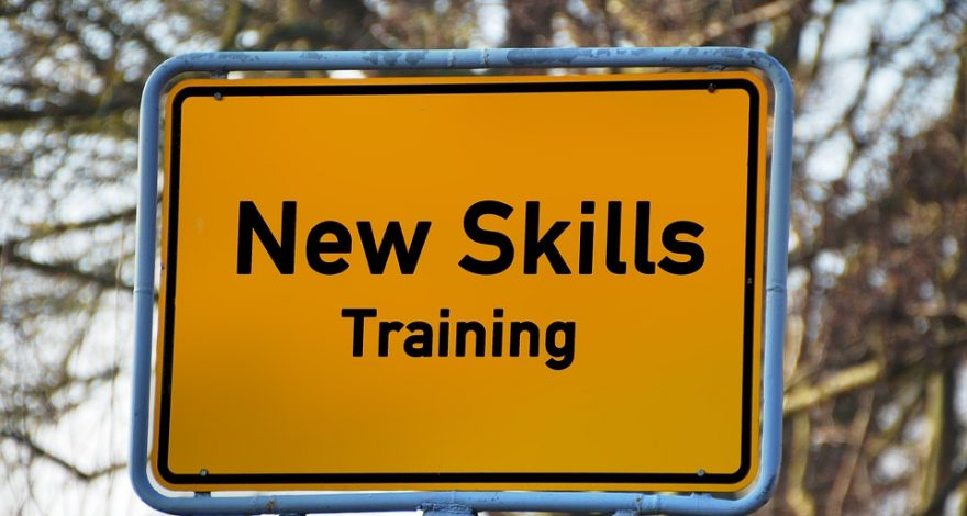 skills training sign