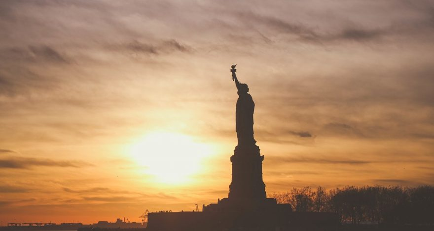 statue of liberty at sunset - New York translation services
