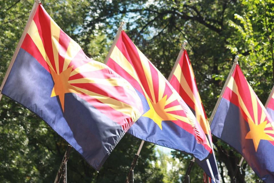 Arizona state flags - interpreting guidelines