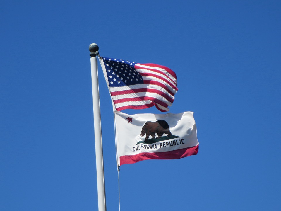 California State Flag - state interpreting guidelines