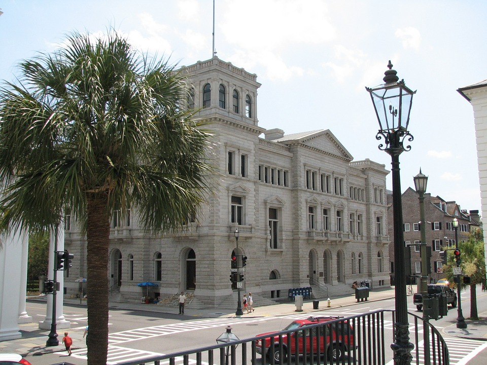 Four Corners of Law intersection in Charleston, South Carolina