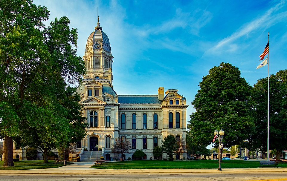 Indiana courthouse - legal interpreting guidelines