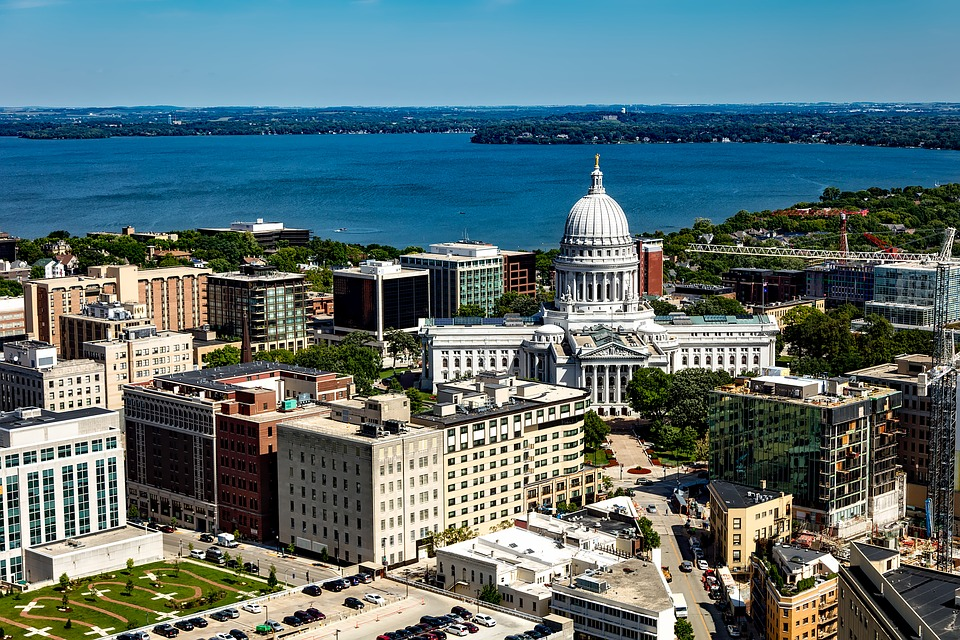 Madison, Wisconsin city view - court interpreting guidelines