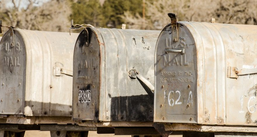 mailboxes - service of process by mail