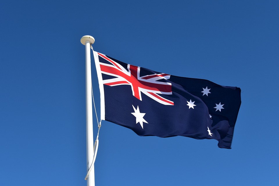 Australia flag - legal facts and laws