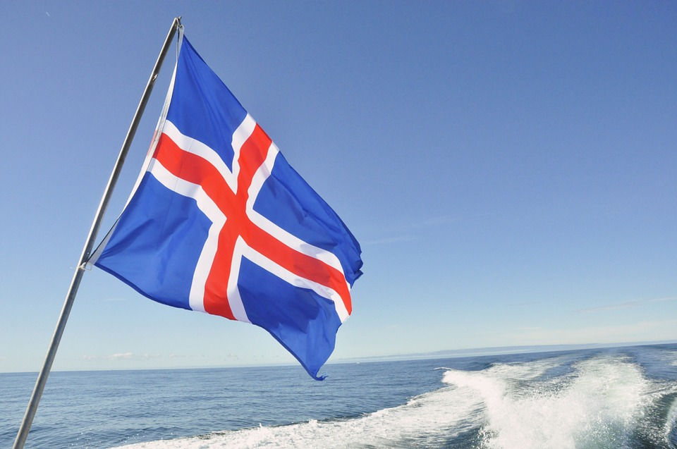 Icelandic flag - Iceland legal facts and laws