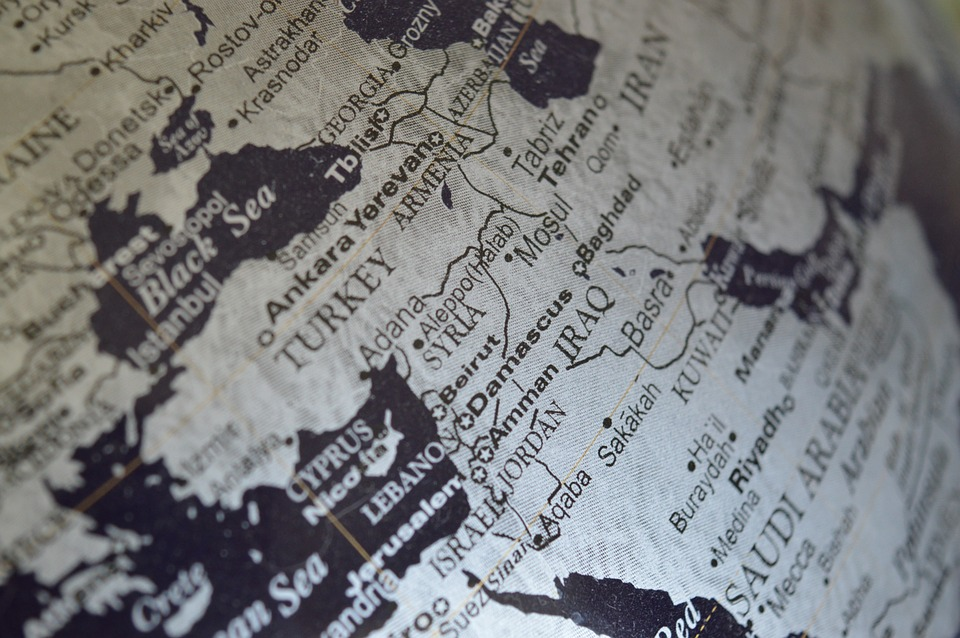 map depicting Iraq - legal facts and laws