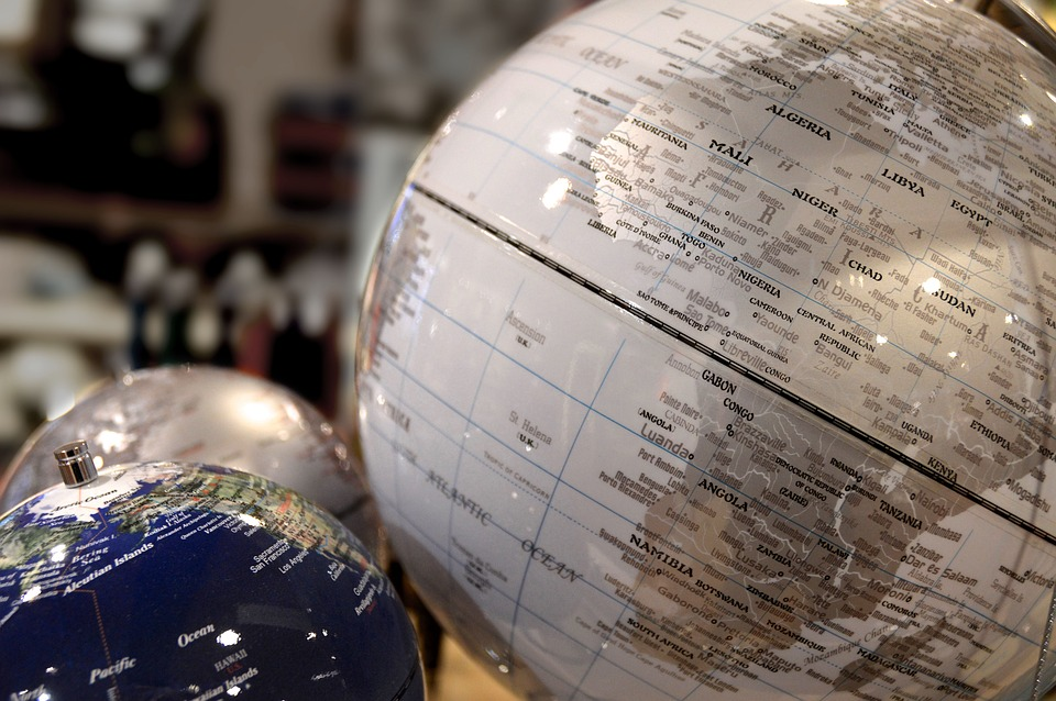numerous globes