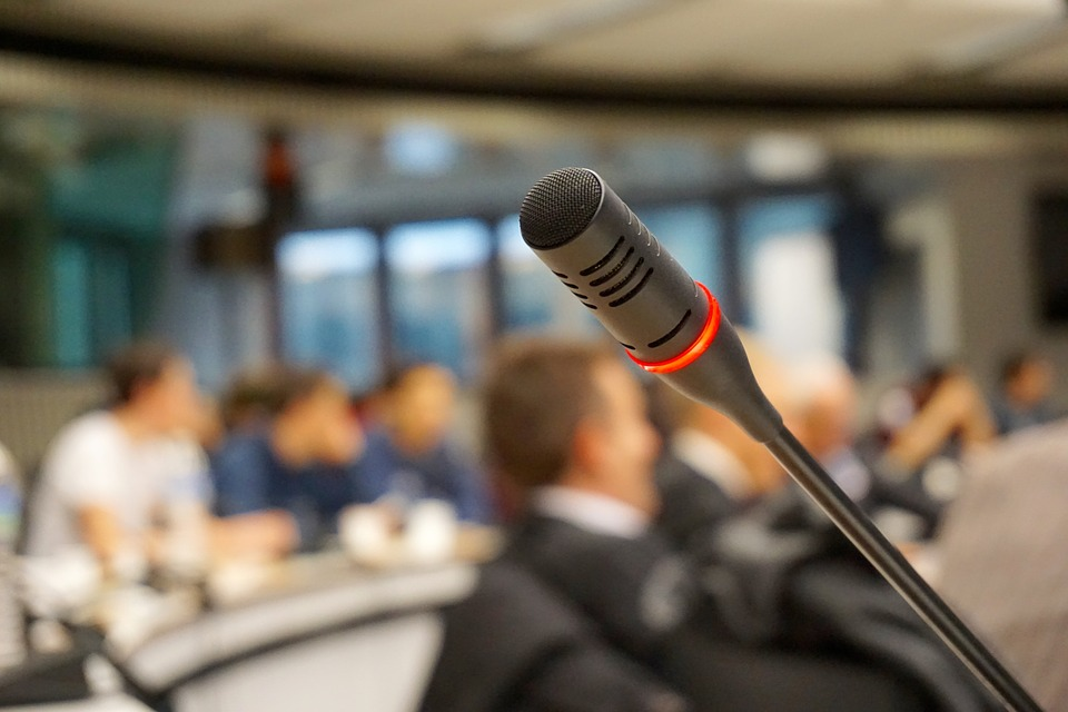 conference microphone used for legal interpreting