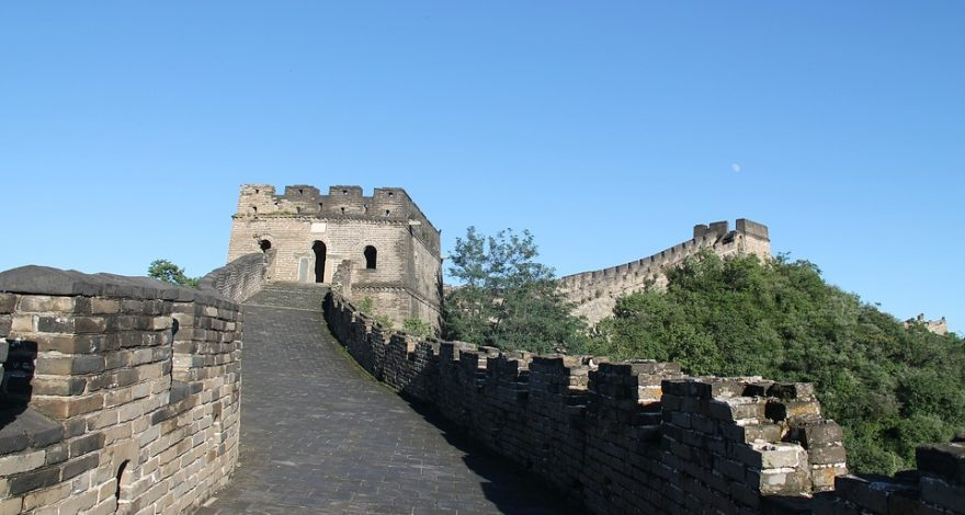 The Great Wall of China - service of process in China