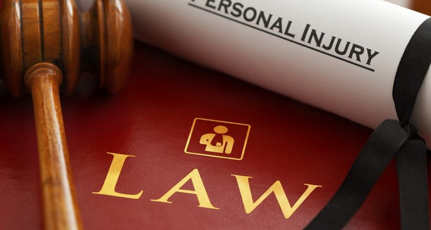 personal injury degree and gavel