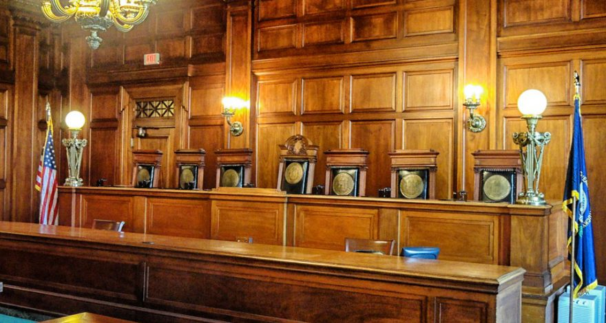 court room judges seats