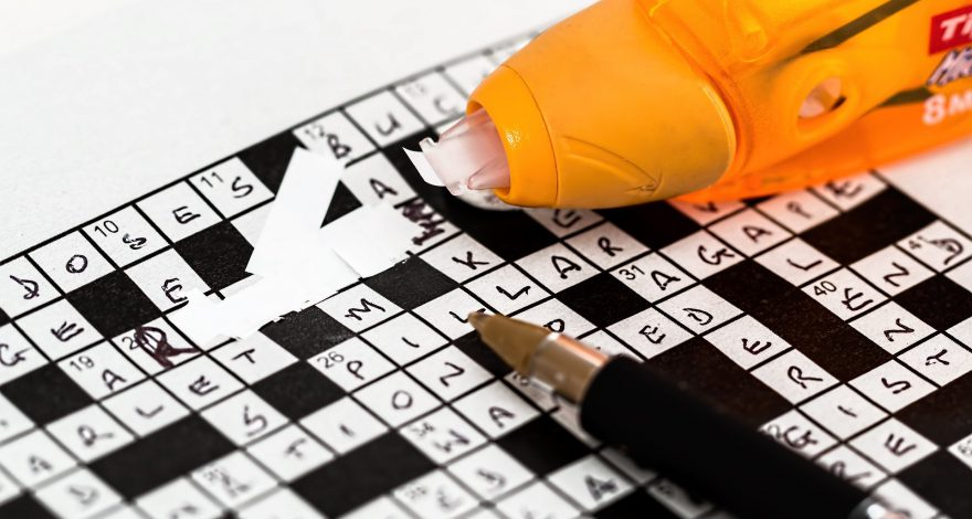 crossword puzzle mistake