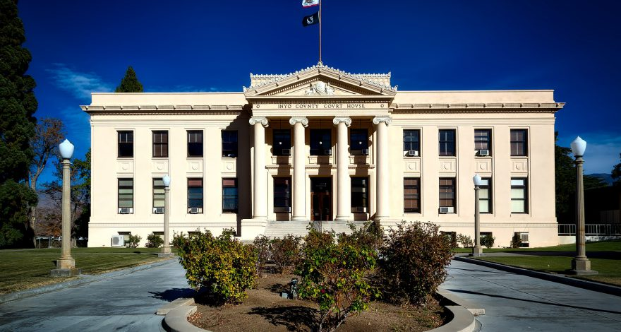 California courthouse
