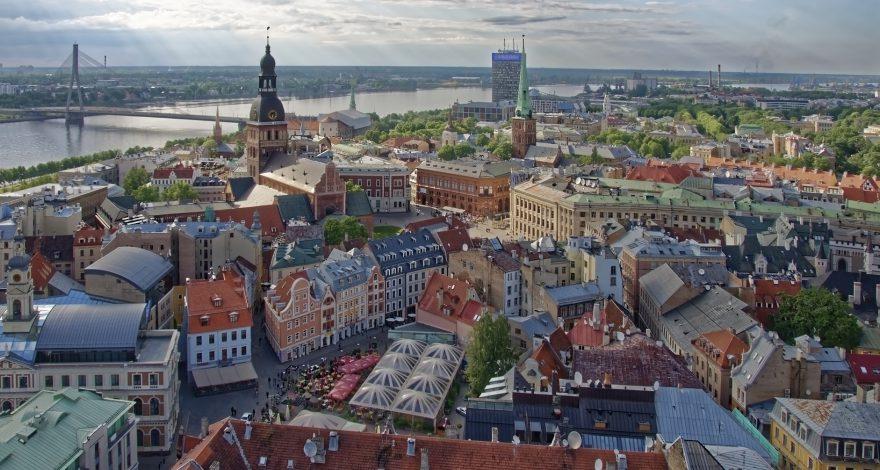 Latvian city - serve process in Latvia